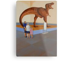 """Museum II (T-Rex)"" Metal Print"