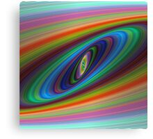 Multicolor galaxy Canvas Print