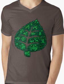 PokeDoodle - Grass Mens V-Neck T-Shirt