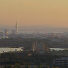 Almost sunset 29-09-09 by Sharon Perrett