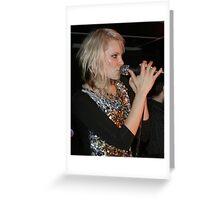 Leila Moss - The Duke Spirit Greeting Card