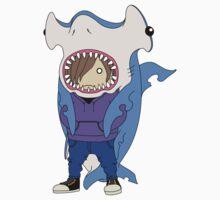 Hammerhead Shark Cape by HYUN KI