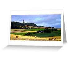 Harvest in Ards Greeting Card
