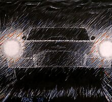 Rainy Drive by Kevin Specht