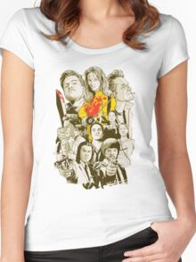Tarantino Collection Women's Fitted Scoop T-Shirt