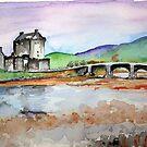 Eilean Donan by Beth A