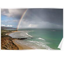 Spring Shower,Anglesea,Great Ocean Road. Poster