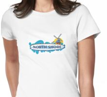 North Shore - Long Shore. Womens Fitted T-Shirt