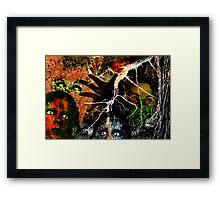 The Monster Mash, It Was a Graveyard Smash Framed Print