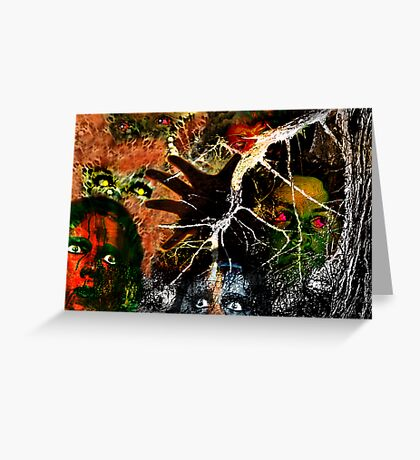 The Monster Mash, It Was a Graveyard Smash Greeting Card