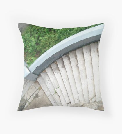 The Height of Contours Throw Pillow