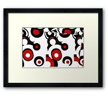 Stereogram box's Framed Print