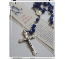 Lord's Prayer iPad Case/Skin