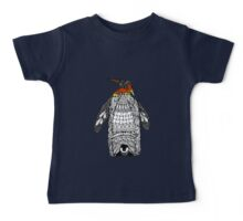 Zentangle Penguin Baby Tee