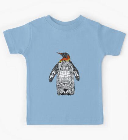 Zentangle Penguin Kids Tee
