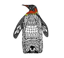Zentangle Penguin by Anbeads