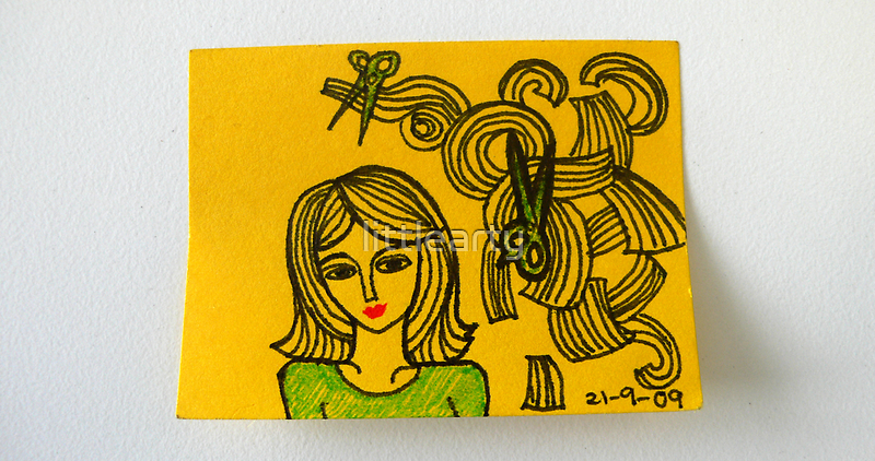 Tiny Diary: Hair Cut by littlearty