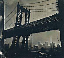 Manhattan Bridge Tintype Photography by ShellyKay
