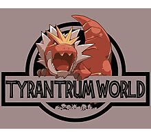 Tyrantrum World Photographic Print