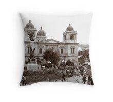 Plaza Murillo Throw Pillow