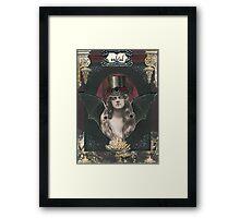 Lysandra Porphyria - Undead Coed Framed Print