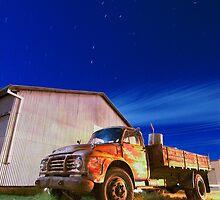 Rustic Truck by Ashraf Saleh