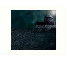 Fort at the sea.... Art Print
