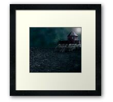 Fort at the sea.... Framed Print