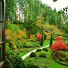 Butchart Gardens 2 by James Birkbeck