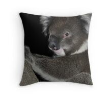 Wanted  for questioning - still at large Throw Pillow
