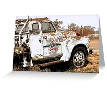 Route 66 Tow Truck Greeting Card