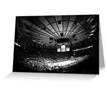 Madison Square Garden Greeting Card