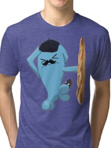"Funny Pokémon ""Wobbuffet"" Tri-blend T-Shirt"