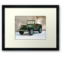 Jeep. Framed Print