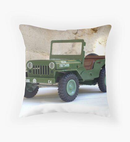 Jeep. Throw Pillow