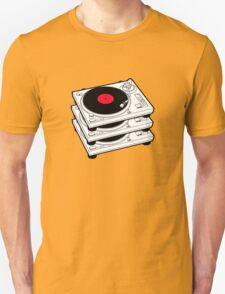 GRAMOPHONES RECORD PLAYERS Unisex T-Shirt