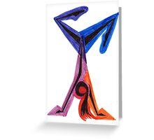 Gymnast Magic Greeting Card