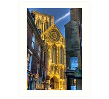 Rose Window - York Minster Art Print