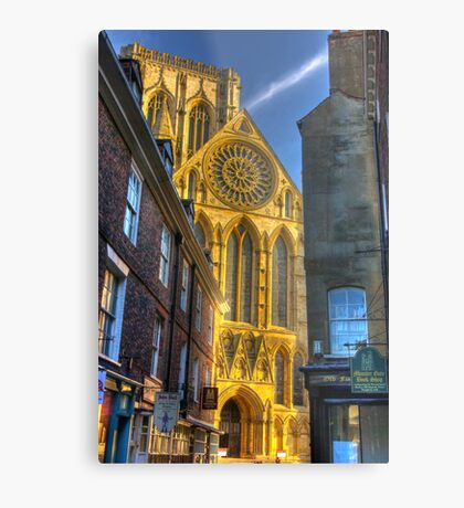 Rose Window - York Minster Metal Print