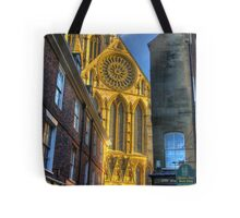 Rose Window - York Minster Tote Bag