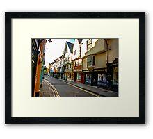 Low Petergate - York #2 Framed Print