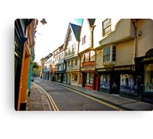 Low Petergate - York #2 Canvas Print