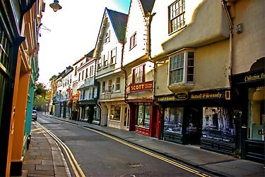 Low Petergate - York #2 by Trevor Kersley