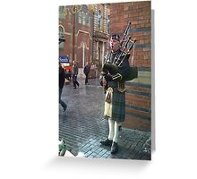 LOAN PIPER... Greeting Card