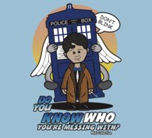 Don't Mess With The Doctor by RooDesign