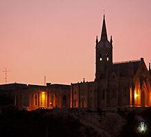 Church, Gozo, Malta. by Joanna Beilby