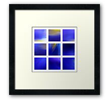 Dark Blue Dutch Iris Framed Print