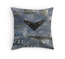 Watery Watch Throw Pillow