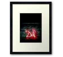 Dali Framed Print