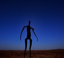 Lake Ballard Statue by Peter Hodgson